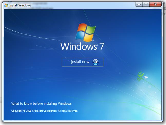 Windows 7 ISO to USB