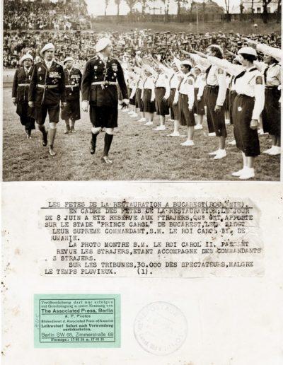 Sărbătoarea Unirii la București (România)