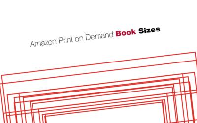 Amazon Print on Demand book sizes